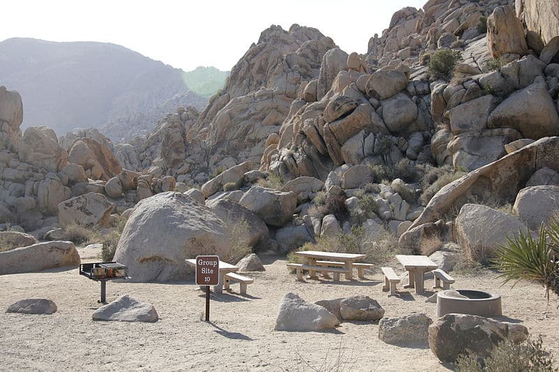 Indian Cove joshua tree camping