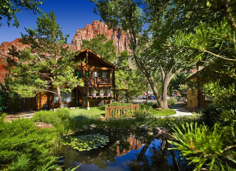Flanigan's Inn in Springdale - part of a Where to Stay in Zion National Park Guide