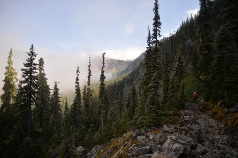 The Pacific Crest Trail (PCT)