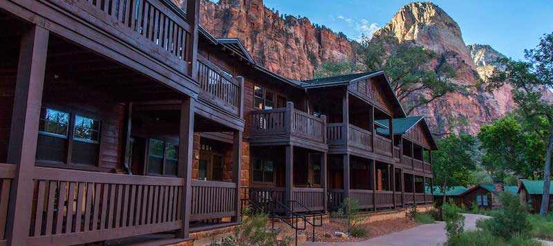 Zion Lodge in Zion National Park, Utah