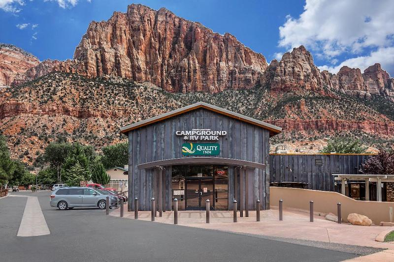 Zion Canyon Campground and RV Park in Springdale - Zion National Park