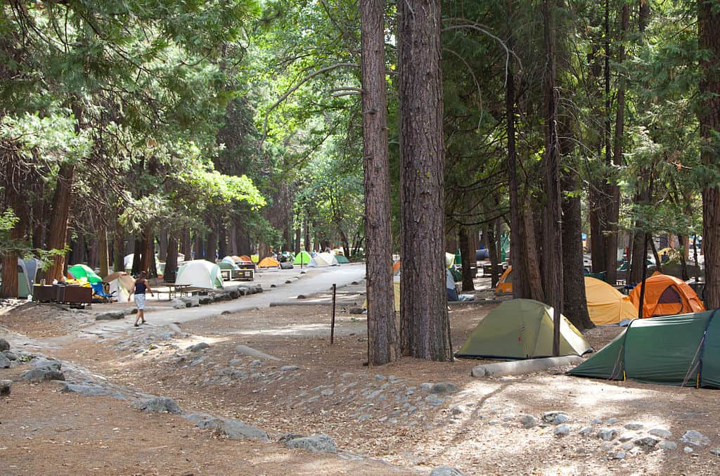 Camp 4 in Yosemite Valley